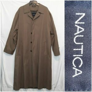 Nautica Trench Coat Khaki
